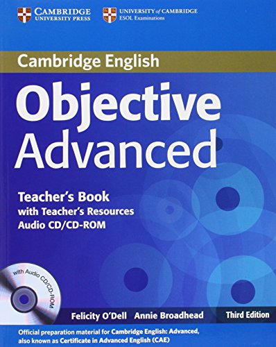 9780521181730: Objective Advanced Teacher's Book with Teacher's Resources Audio CD/CD-ROM
