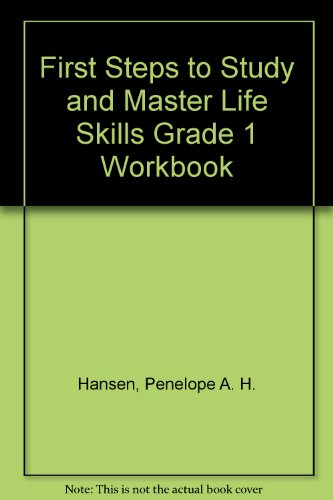 9780521181761: First Steps to Study and Master Life Skills Grade 1 Workbook