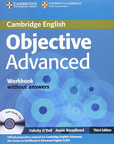 9780521181778: Objective CAE 3rd  Workbook without Answers with Audio CD