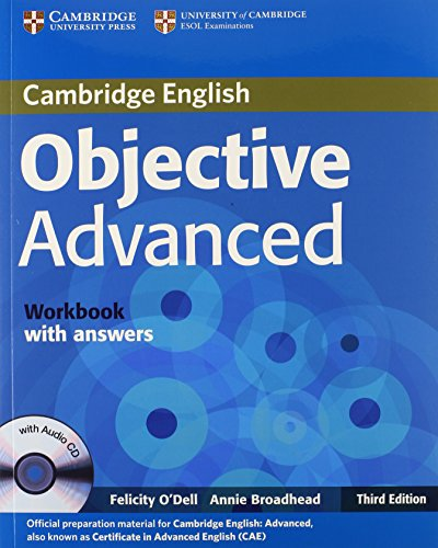 9780521181785: Objective Advanced Workbook with Answers with Audio CD
