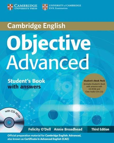 9780521181822: Objective Advanced Student's Book Pack (Student's Book with Answers with CD-ROM and Class Audio CDs (2))