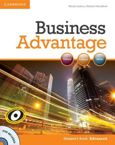 9780521181846: Business Advantage Advanced Student's Book with DVD