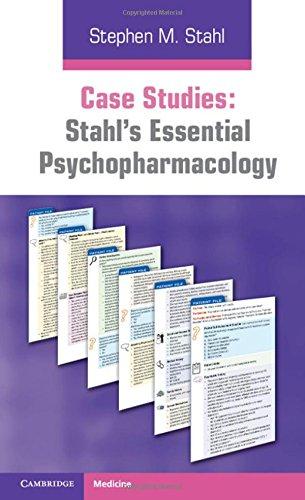 9780521182089: Case Studies: Stahl's Essential Psychopharmacology Paperback (Stalh)