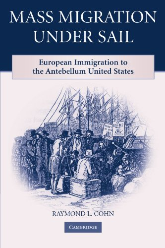 9780521182485: Mass Migration under Sail: European Immigration to the Antebellum United States