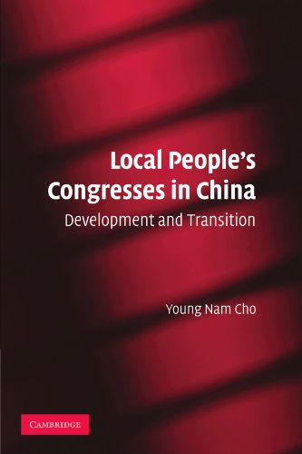 9780521182492: Local People's Congresses in China: Development and Transition