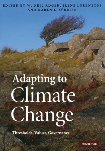 9780521182515: Adapting to Climate Change: Thresholds, Values, Governance