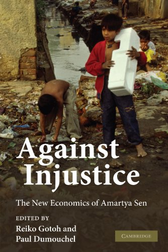 9780521182614: Against Injustice: The New Economics of Amartya Sen