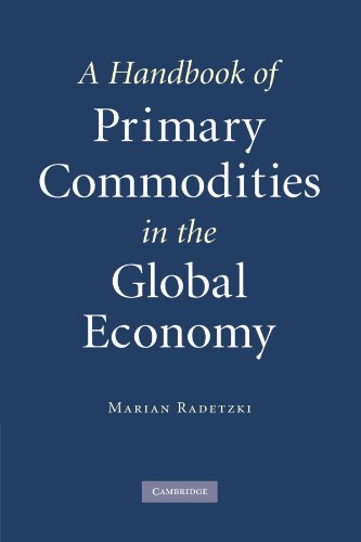 9780521182645: A Handbook of Primary Commodities in the Global Economy