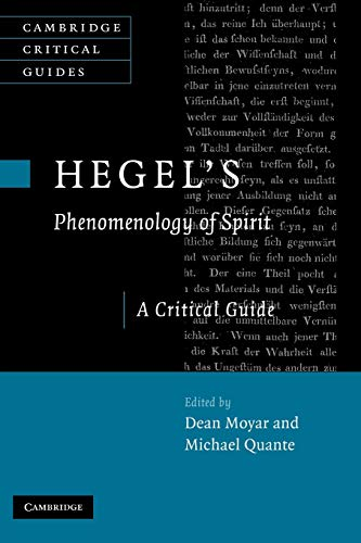 9780521182775: Hegel's Phenomenology of Spirit: A Critical Guide (Cambridge Critical Guides)