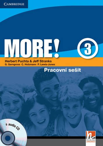 9780521182782: More! Level 3 Workbook with Audio CD Czech edition