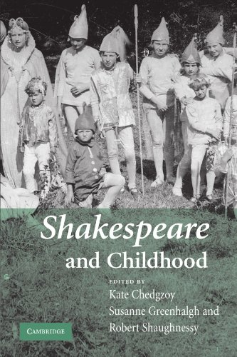 9780521182843: Shakespeare and Childhood