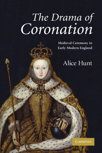 9780521182874: The Drama of Coronation: Medieval Ceremony in Early Modern England