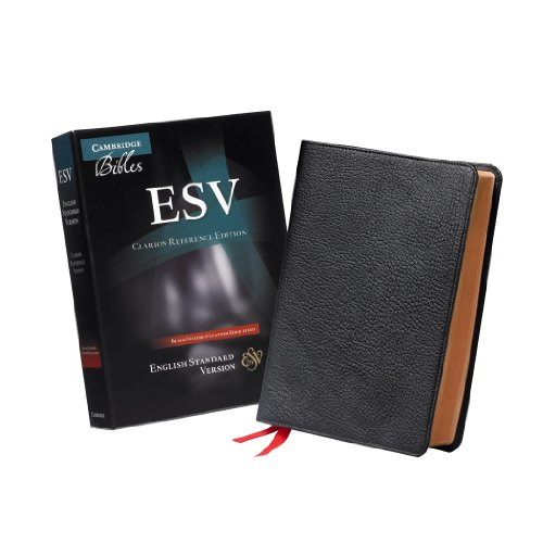 9780521182911: ESV Clarion Reference Edition ES486:XE Black Goatskin Leather