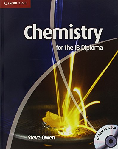 9780521182942: Chemistry for the IB Diploma Coursebook with CD-ROM