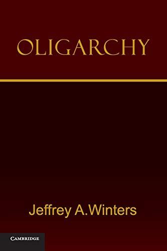 9780521182980: Oligarchy