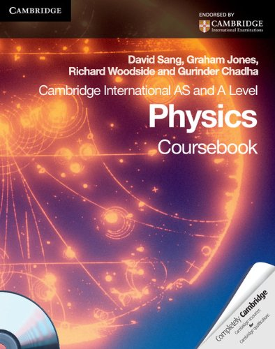 9780521183086: Cambridge International AS Level and A Level Physics Coursebook with CD-ROM (Cambridge International Examinations)