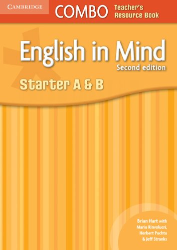9780521183130: English in Mind Starter A and B Combo Teacher's Resource Book