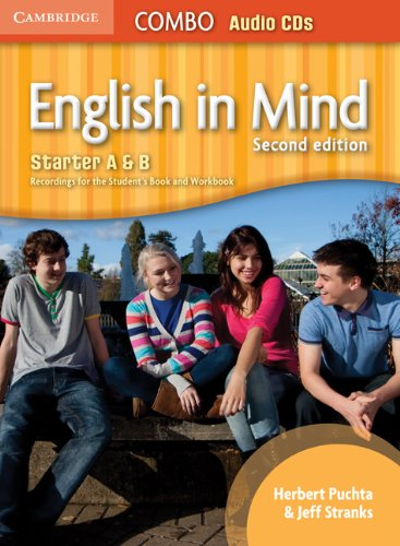 9780521183147: English in Mind Starter A and B Combo Audio CDs (3)