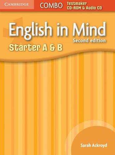 9780521183178: English in Mind Starter A and B Combo Testmaker CD-ROM and Audio CD (English in Mind Testmaker)