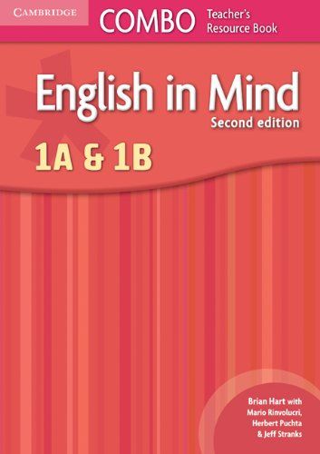 English in Mind Levels 1A and 1B Combo Teacher's Resource Book (0521183189) by Hart, Brian