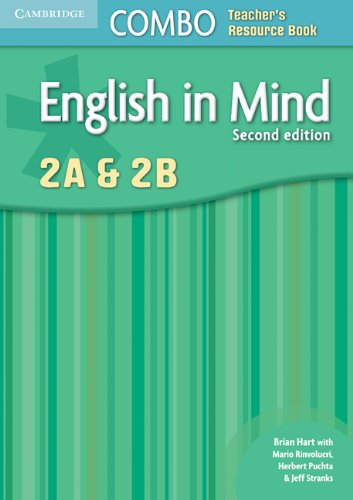 9780521183215: English in Mind 2nd  2A and 2B Combo Teacher's Resource Book