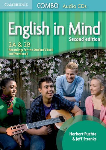 9780521183222: English in Mind Levels 2A and 2B Combo Audio CDs (3)