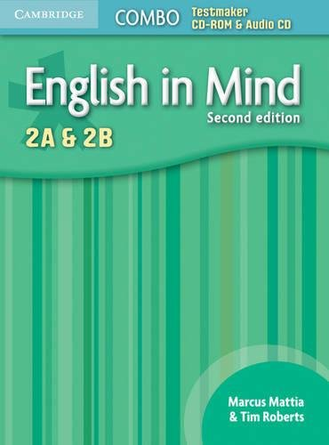 9780521183239: English in Mind Levels 2A and 2B Combo Testmaker CD-ROM and Audio CD