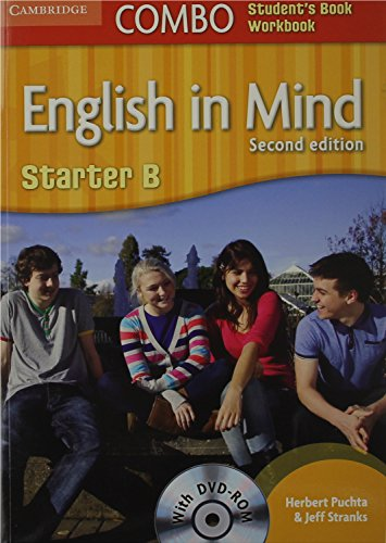 9780521183253: English in Mind Starter B Combo B with DVD-ROM