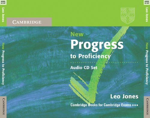 9780521183611: New Progress to Proficiency Audio CDs (3)