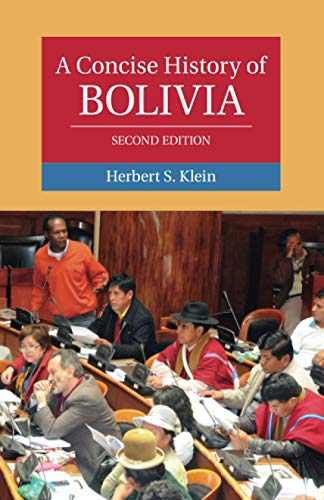 9780521183727: A Concise History of Bolivia (Cambridge Concise Histories)