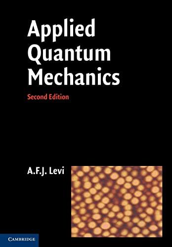 9780521183994: Applied Quantum Mechanics
