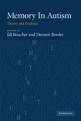 9780521184014: Memory In Autism: Theory and Evidence