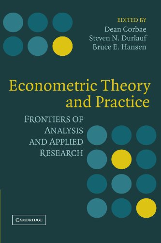 9780521184304: Econometric Theory and Practice: Frontiers of Analysis and Applied Research