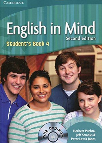 9780521184465: English in mind. Level 4. Con DVD. Per le Scuole superiori