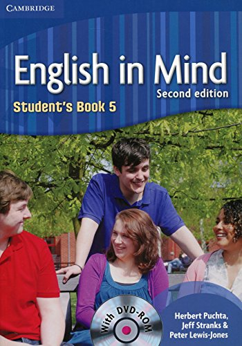 9780521184564: English in Mind 2nd 5 Student's Book with DVD-ROM - 9780521184564