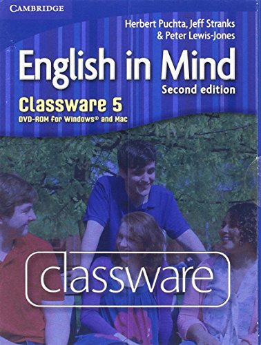 9780521184601: English in Mind Level 5 Classware DVD-ROM