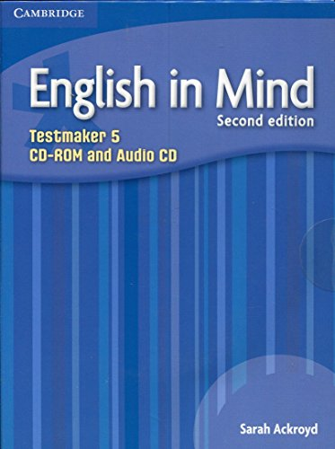 9780521184618: English in Mind Level 5 Testmaker CD-ROM and Audio CD (Testmaker, Level 5)