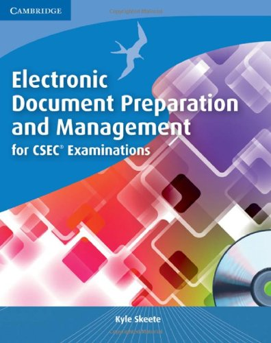 Electronic Document Preparation and Management for CSEC®: Skeete, Kyle