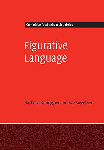 9780521184731: Figurative Language