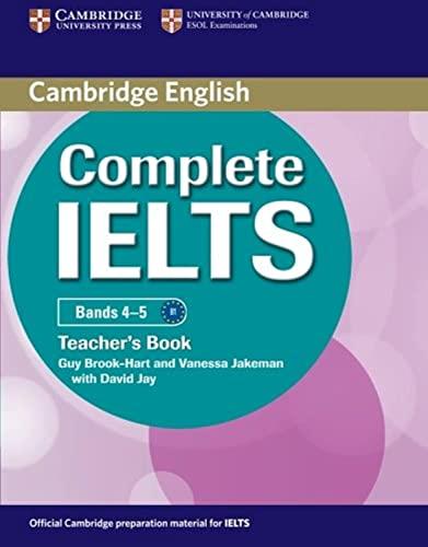 Complete IELTS Bands 4-5 Teacher's Book: Brook-Hart, Guy