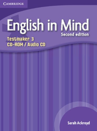 9780521185622: English in Mind Level 3 Testmaker CD-ROM and Audio CD