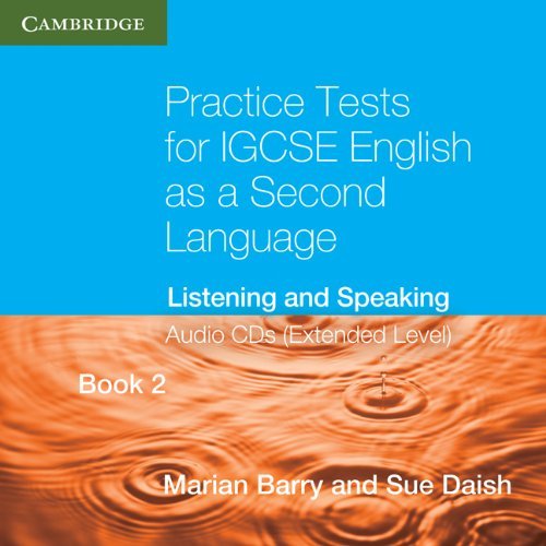 9780521186339: Practice Tests for IGCSE English as a Second Language Extended Level Audio CDs (2) (Book2): Listening and Speaking (Georgian Press)