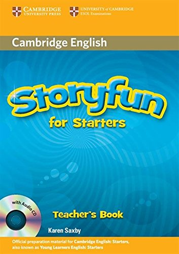 9780521186940: Storyfun for Starters Teacher's Book with Audio CD
