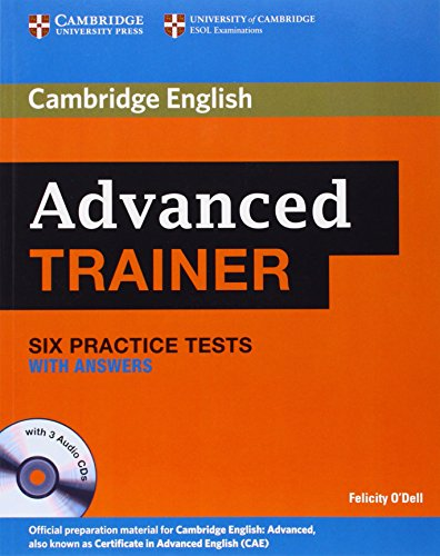 9780521187008: Advanced Trainer Six Practice Tests with Answers and Audio CDs (3) (Cambridge English)