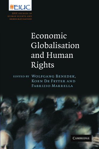 9780521187633: Economic Globalisation and Human Rights: EIUC Studies on Human Rights and Democratization (European Inter-University Centre for Human Rights and Democratisation)
