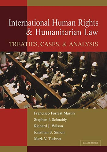 9780521187817: International Human Rights and Humanitarian Law: Treaties, Cases, and Analysis