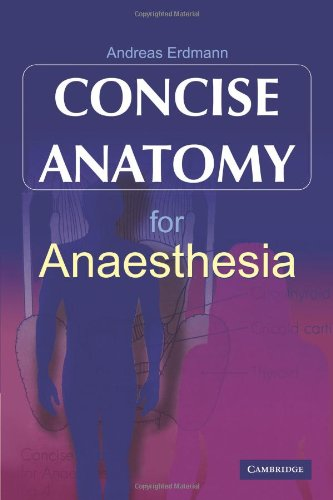 9780521187862: Concise Anatomy for Anaesthesia