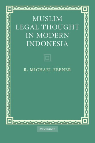 9780521188050: Muslim Legal Thought in Modern Indonesia