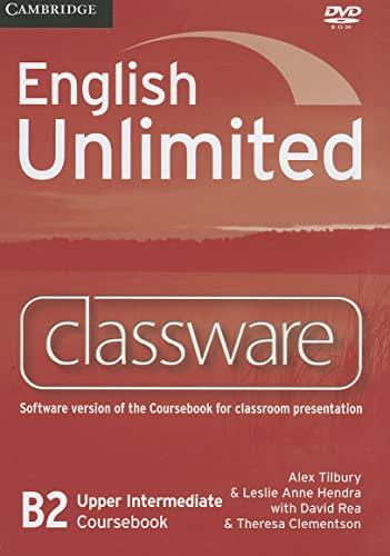 English Unlimited Upper Intermediate Classware DVD-ROM: Alex Tilbury