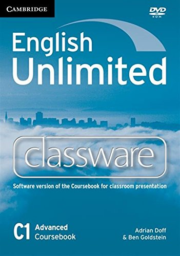 9780521188425: English Unlimited Advanced Classware DVD-ROM